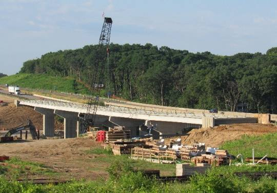 Interchange & Bridge Reconstruction in Rock County, WI by OES
