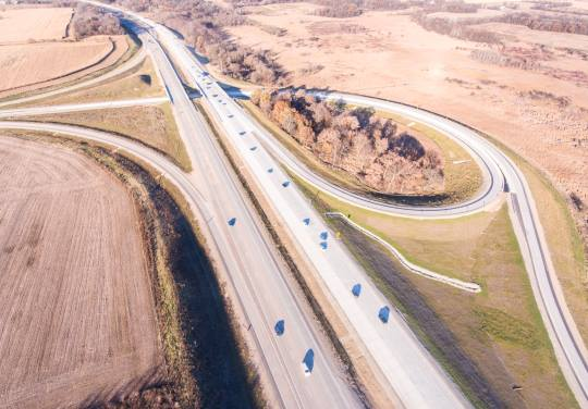 Six-Lane Expansion in Dane/Rock County by OES